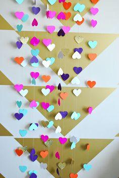 Heart Photo Booth Backdrop. $18.50, via Etsy.