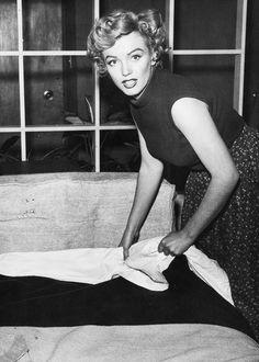 """graceandface: """"""""Marilyn Monroe, 1952. """" """""""
