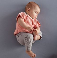 korte mouwen baby trui patroon