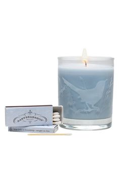 BABYBEARSHOP 'Lavender Vanilla' Soy Wax Candle available at #Nordstrom