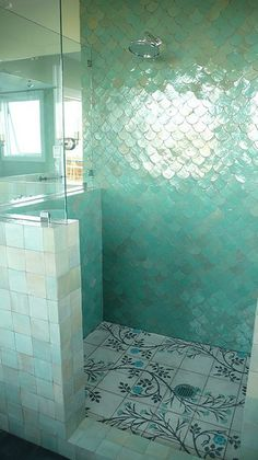 There's a Place for us... mermaid tiles by emery et cie (www.emeryetcie.)