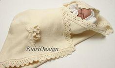 Machine knitting Baby knitting pattern Blanket knitting