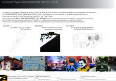 En Barrio Guemes de la ciudad de Cordoba, se trabajo con la idea de vincular el Paseo de las artes, con el proyecto cultural de la Ex Carcel de Encausados a traves de una red de espacios que ofrescan diferentes actividades, las cuales te inviten a transitar o a permanecer. El espacio desarrollado es el 3. Catedra de diseño urbano.