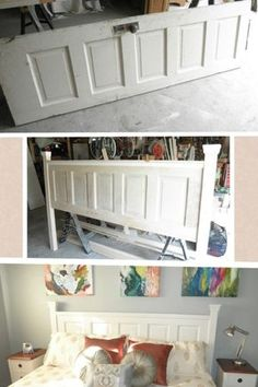 Diy headboard project ideas pinterest diy headboards project headboard 15 easy diy headboard ideas you should try buying upholstered headboards the pros and cons creative headboard solutioingenieria Images