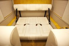 Image result for fsprinter van seats convert to bed