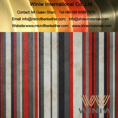 Luxury PU Faux Leather Vinyl Upholstery Leather