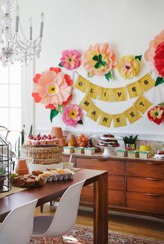 Farmers Market themed birthday!