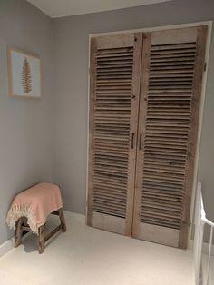 Laundry Room Closet, Farm House Living Room, Bedroom Cupboard Designs, Bedroom Cupboards, Bedroom Interior, Aluminium Door Design, Home Decor, Cupboard Design, Basement Design