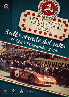 Targa Florio Classica 2014 - News d'Anciennes Old Sports Cars, Sports Car Racing, Road Racing, Race Cars, Auto Racing, Alfa Romeo Logo, Alfa Romeo Cars, Monte Carlo, Car Posters