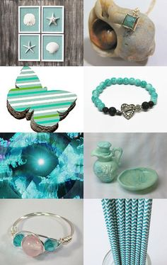 FRU Sweet 16 Treasury Aqua Gift Ideas by SiriusFun on Etsy--Pinned with TreasuryPin.com