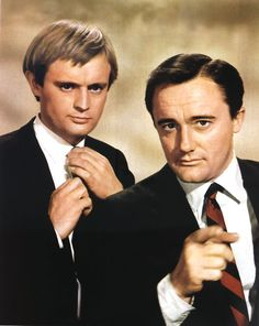 """Illya Kuryakin and Napoleon Solo: David McCallum & Robert Vaughn in """"The Man From U.N.C.L.E."""" David McCallum (DUCKY from NCIS) 
