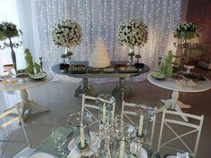 Decoração casamento E&C, mesa doces