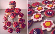 Cupcakes et biscuits Coccinelles - Ladybug - 2012