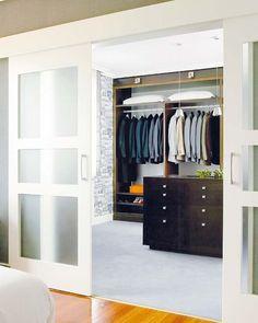 ideas para organizar un vestidor