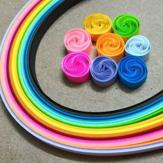 AZLINA ABDUL: How to make quilling vortex coils with a slotted quilling tool