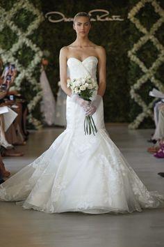 OSCAR DE LA RENTA BRIDAL 2013 - www.bodasnovias.com #CasarCasar