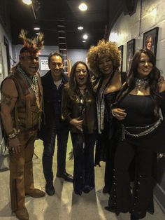 Carlos Keyes With Felipe Rose (of Village People), his backup singer and Yvonne Elliman at The Theatre at Westbury for The 40th Anniversary Concert of Saturday Night Fever.