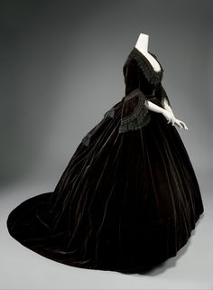 mourning dress.