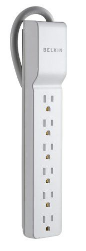 Belkin 6-Outlet Home/Office Surge Protector
