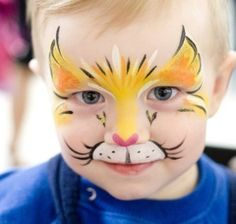 Children's face painting or drawings on the children's faces | mshorserescue.org