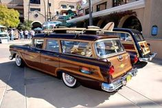 Have always wanted a Woody Beach Rides, Beach Cars, My Dream Car, Dream Cars, Vans Usa, Harley Davidson, Photo Images, Car Images, Sports Wagon
