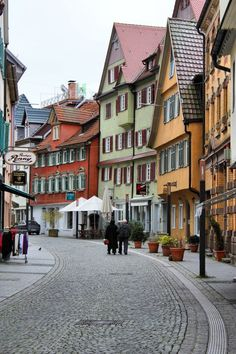 Spent time here - Esslingen, Germany - every street looks like this
