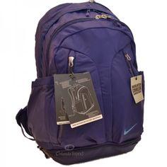 9a93c041895e Nike Backpack Purple Ultimatum Max Air Laptop Gear Women Girl School Bag New