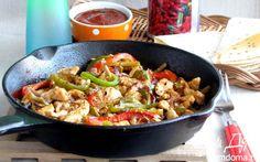 Фахитас с курицей   Кулинарные рецепты от «Едим дома!»