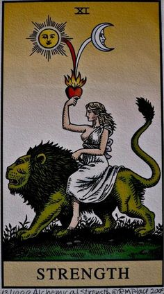 What Are Tarot Cards? Made up of no less than seventy-eight cards, each deck of Tarot cards are all the same. Tarot cards come in all sizes with all types Strength Tarot, Inner Strength, Tarot Card Tattoo, Tarot Card Art, Arte Black, Art Carte, Major Arcana, Leo Zodiac, Zodiac Horoscope