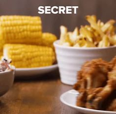 Finger lickin' good... I brings to you secrets...