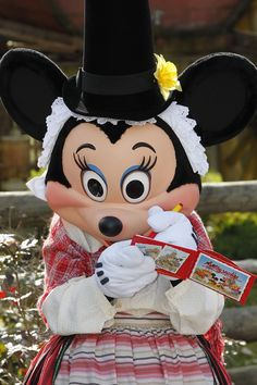Disneyland Paris, St. Davids Welsh Festival - St. Davids Welsh Festival Minnie