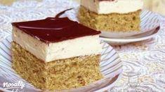 Jugoszláv krémes | Nosalty Hungarian Cake, Hungarian Recipes, Smoothie Fruit, Ice Cream Recipes, Vanilla Cake, Sweet Treats, Cheesecake, Dessert Recipes, Food And Drink