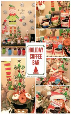 Holiday Coffee Bar #GrabHolidayHappiness #CollectiveBias #ad