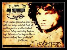 Jim Morrison...