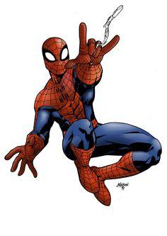 #Spiderman #Fan #Art. (Spiderman - Colors) By: Pauloskinner. (THE * 5 * STÅR * ÅWARD * OF: * AW YEAH, IT'S MAJOR ÅWESOMENESS!!!™)[THANK Ü 4 PINNING!!!<·><]<©>ÅÅÅ+(OB4E)
