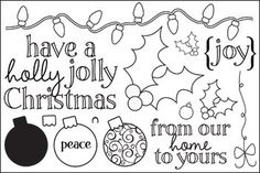 holly4Christmas - Stamps of Life stampsoflife.com