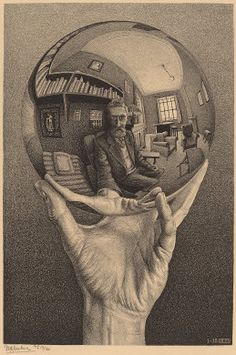 M.C. Escher  Hand with Reflecting Sphere, 1935