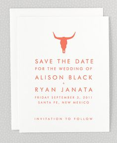 Desert Wedding Invitations and Cards | Hello!Lucky