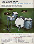 Leedy drums (predecessor to Ludwug)