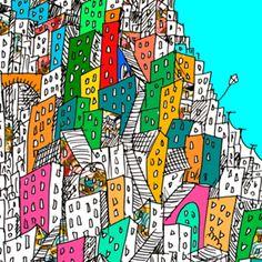 Bolsa Favela brasileira do Studio Matheusfurtadodesenhista por R$70,00