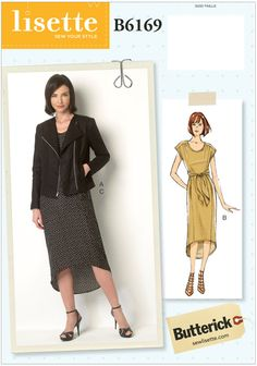 Look no further for your ladies jacket and dress Butterick sewing pattern Available to buy on-line from Sew Essential.