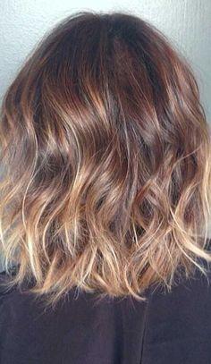 Short Wavy Brunette Hair