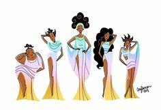 Greek Choir from Hercules Meg Hercules, Disney Hercules, Hercules Muses, Megara Disney, Disney Nerd, Disney Memes, Disney Fan Art, Disney Princess, Disney And Dreamworks