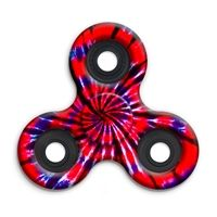 SPINNERS squad fidget toys Tie-dye Red