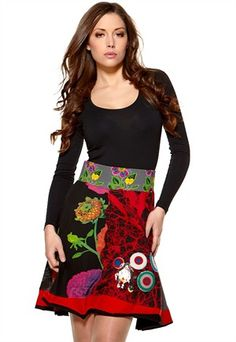 I have it! Rinna skirt from Desigual <3