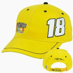 "Nascar M Racing Kyle Busch #18 Adjustable Velcro Race Constructed Hat Cap by NASCAR. $13.99. Velcro. Brand New Item with Tags. 100% Cotton. Official Licensed Product. Adjustable. M Racing logo embroidered on right front of cap, along with racers number embroidered on left front. Drivers signature embroidered on back panel, along with ""Nascar"" logo embroidered on closure. Adjustable, velcro closure. Officially Licensed NASCAR Product.. Save 30% Off!"