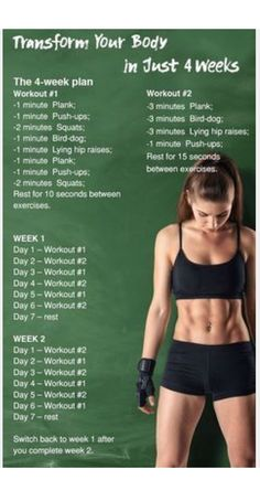 4 week body transformation | Posted By: NewHowToLoseBellyFat.com
