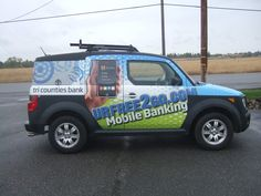 LRT Graphics full car wrap