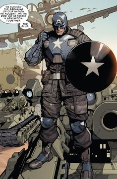 Coronel Rogers - Captain America from an alternate Earth (Marvel Comics)