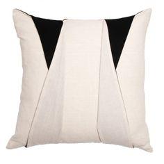 The Tuxedo Pillow @StoneTextile in custom fabric